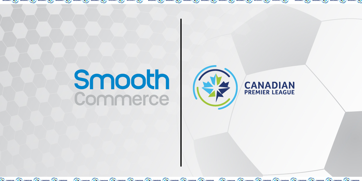 Smooth Commerce and Canadian Premier League logo