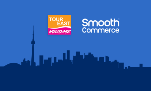 Tour East and Smooth Commerce logos
